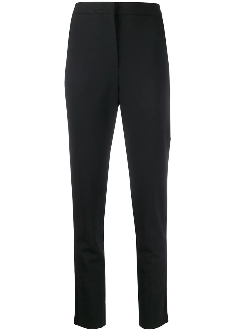 Emilio Pucci satin band waist trousers