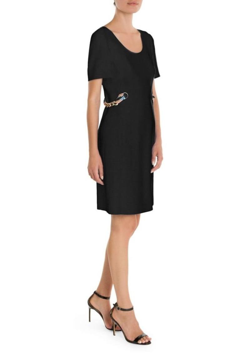super popular c1442 82622 Scarf Chain A-Line Dress