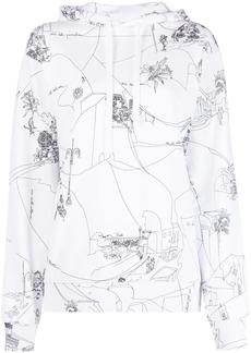 Emilio Pucci Scorci Fiorentini print hoodie
