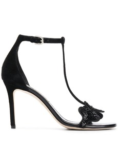 Emilio Pucci sequin detail 100mm sandals