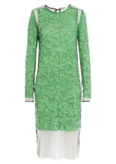 Emilio Pucci Sequin Dress with Tulle
