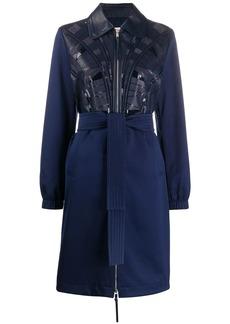 Emilio Pucci sequin-embellished panelled coat