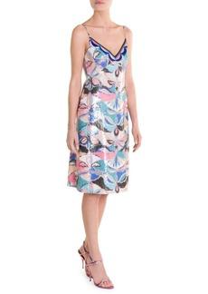 Emilio Pucci Sequin Slip Dress