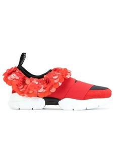 Emilio Pucci sequin slip-on sneakers