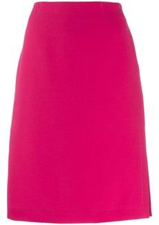 Emilio Pucci side slit pencil skirt