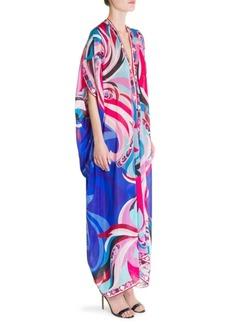 Emilio Pucci Silk-Blend Caftan Dress