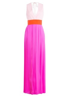 Emilio Pucci Silk Georgette Floor Length Gown