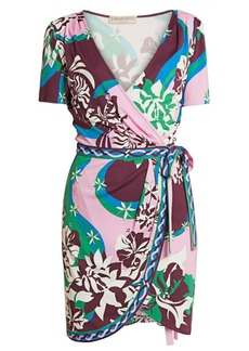 Emilio Pucci Silk Jersey Wrap Dress