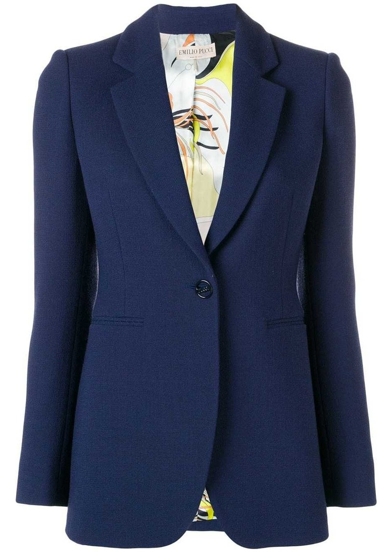 Emilio Pucci single-breasted blazer