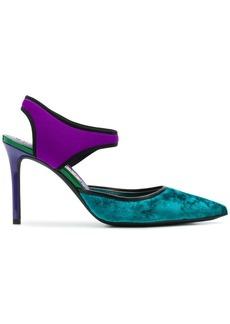 Emilio Pucci slingback colour-block pumps