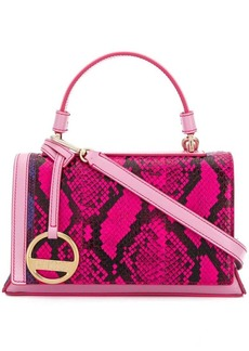 Emilio Pucci snakeskin effect small satchel