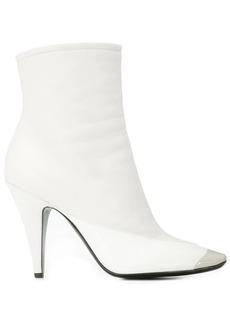 Emilio Pucci square toe ankle boots