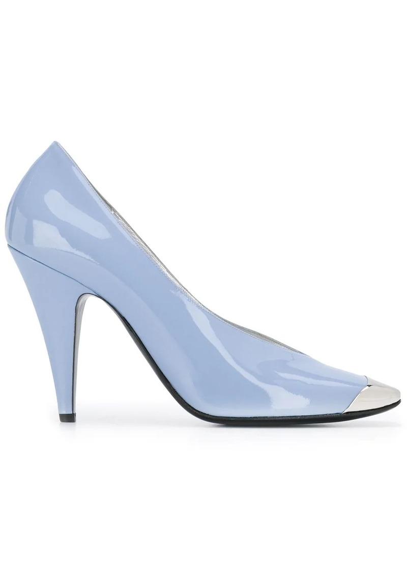 Emilio Pucci square toe pumps