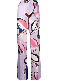 Emilio Pucci straight-leg printed trousers