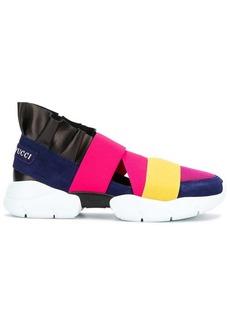 Emilio Pucci strappy sneakers