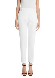 Emilio Pucci Tricotine Slim Cropped Trousers