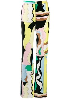 Emilio Pucci Vallauris flared trousers