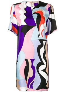 Emilio Pucci Vallauris Print Mini Dress