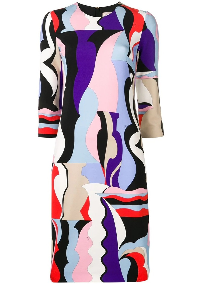 Emilio Pucci Vallauris Print Shift Dress