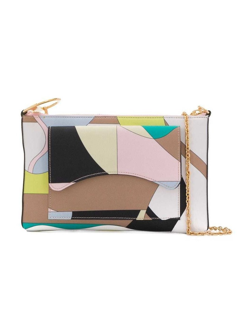 Emilio Pucci Vallauris Print Shoulder Bag