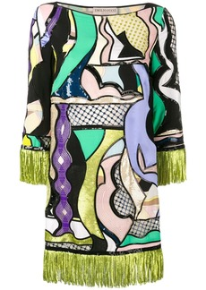 Emilio Pucci Vallauris Sequinned Mini Dress