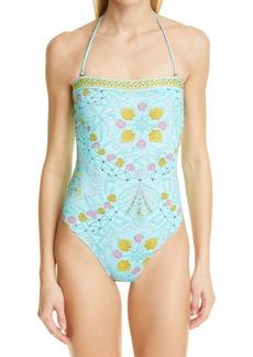 Women's Emilio Pucci Conch Print One-Piece Swimsuit