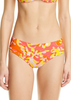 Women's Emilio Pucci Lily Print Bikini Bottoms