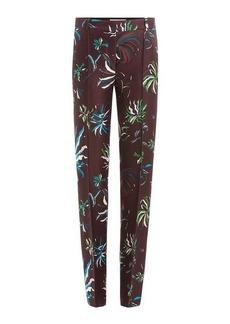 Emilio Pucci Wool-Silk Printed Pants