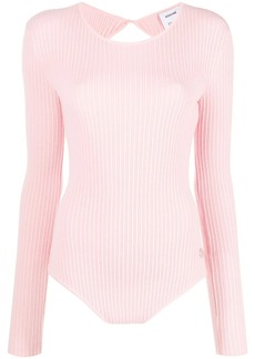 Emilio Pucci x Koché open back knitted top