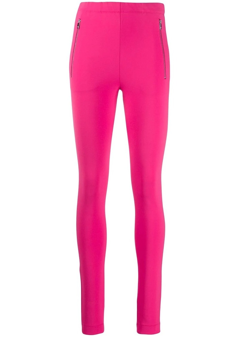 Emilio Pucci zipped detail leggings