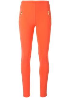 Emilio Pucci zipped pocket leggings