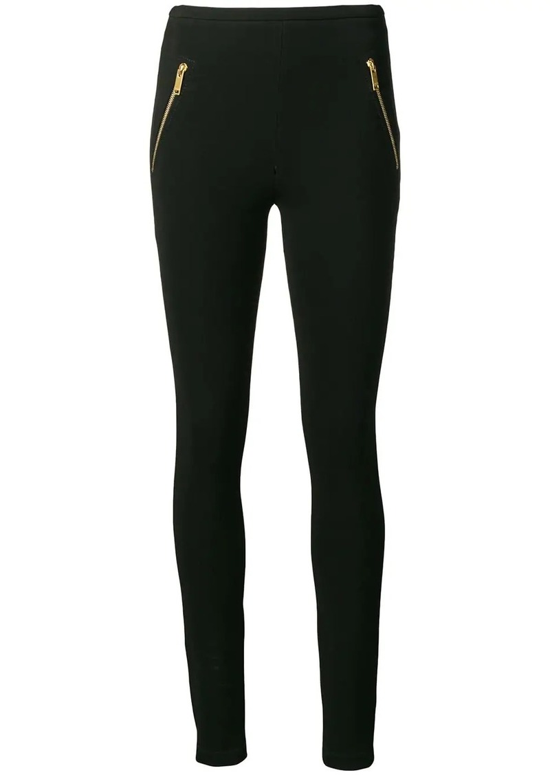 Emilio Pucci Zipped Pocket Leggings