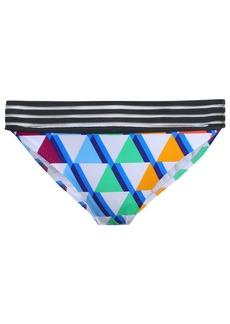 Emma Pake Woman Printed Mid-rise Bikini Briefs Multicolor