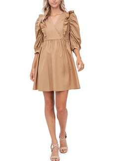 Women's En Saison Puff Sleeve Minidress