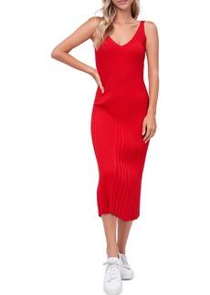Women's En Saison Rib Knit Midi Dress