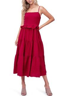 Women's En Saison Tiered Midi Dress