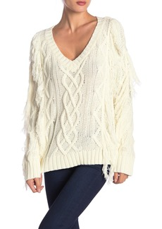 Endless Rose Chunky Cable Knit Sweater