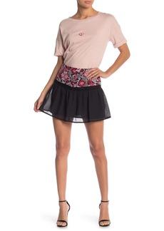 Endless Rose Dorian Embroidered Mini Skirt