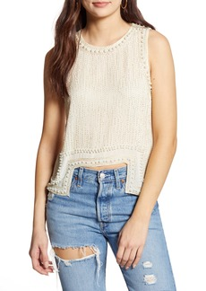 Endless Rose Beads Spangled Tank Top