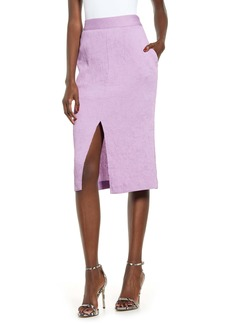 Endless Rose Corduroy Pencil Skirt