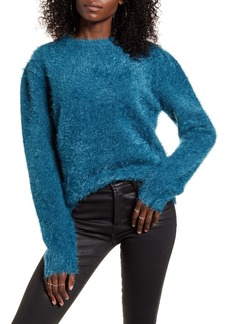 Endless Rose Feathered Knit Sweater