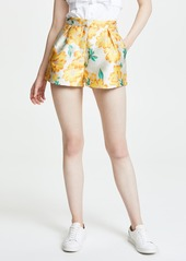 endless rose Floral Brocade Shorts