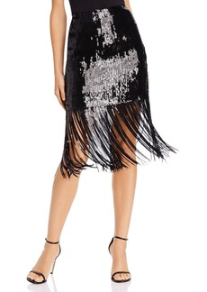 Endless Rose Fringed Sequined Skirt - 100% Exclusive