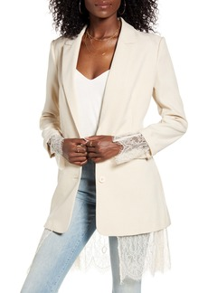Endless Rose Lace Lined Jacket