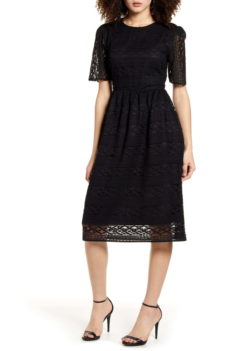 Endless Rose Lace Midi Dress