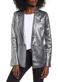 Endless Rose Metallic Blazer
