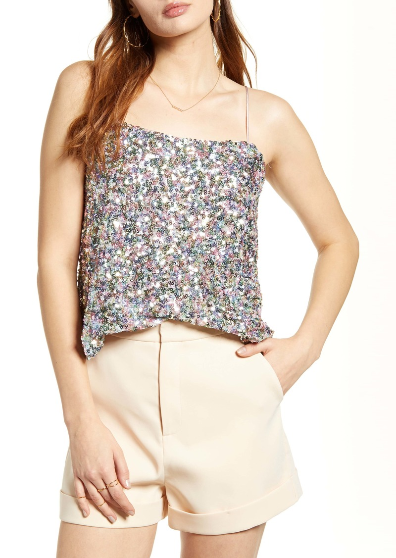 Endless Rose Multicolor Sequin Camisole