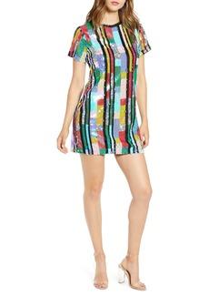 Endless Rose Multicolor Sequin Minidress