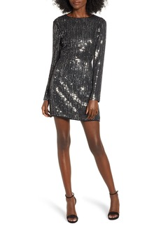 Endless Rose Open Back Sequin Dress