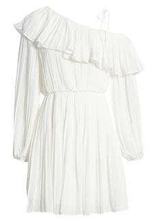 Endless Rose Pleated One-Shoulder Dress